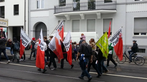 1. Mai - Demonstration